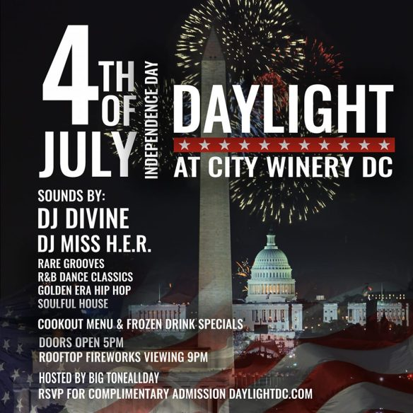 daylight dc 4th July