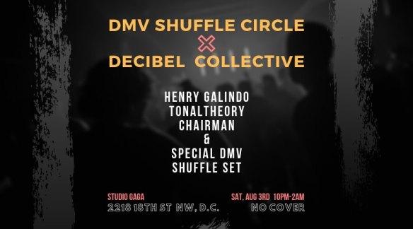 dmv shuffle circle and decibel collective