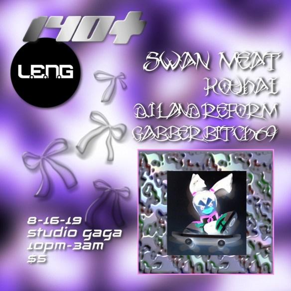Leng with Swan Meat at Studio Gaga