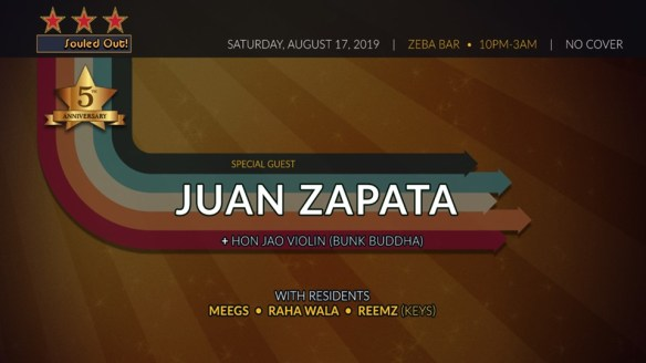 souled out with juan zapata