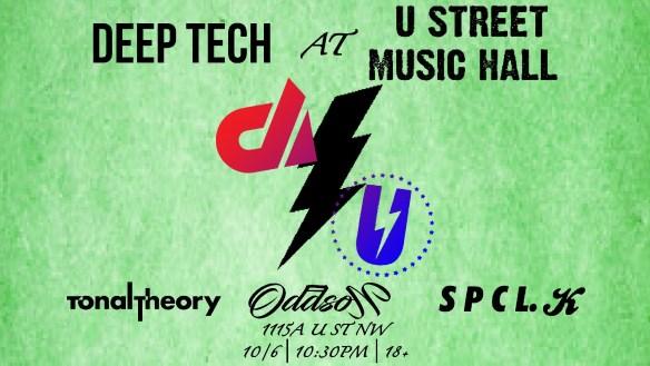 deep tech at u street music hall