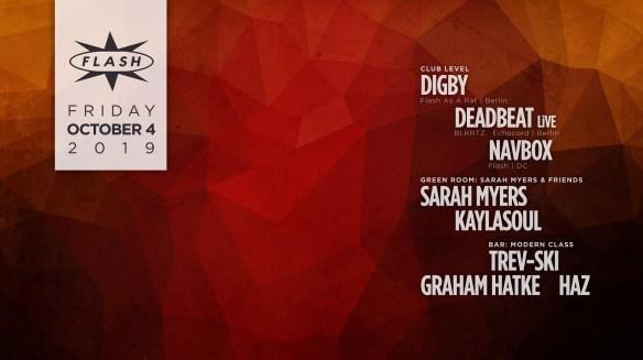 digby deadbeat live at flash