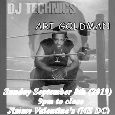 dj technics and ari goldman at jimmys
