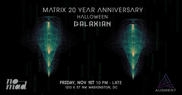 Matrix 20 Year Anniversary with Galaxian Live