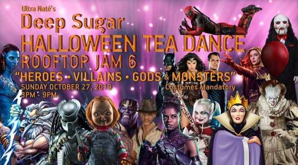 deep sugar halloween tea dance