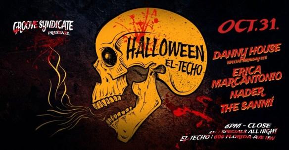 Halloween at El Techo