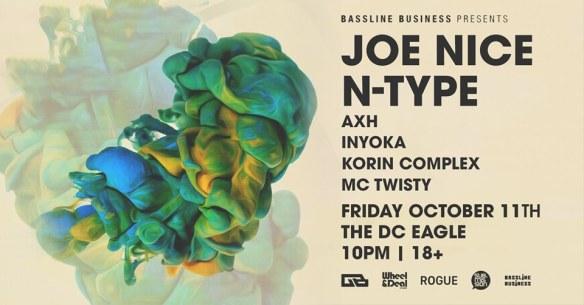joe nice n-type bassline business