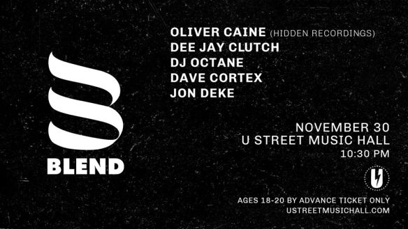 oliver caine and blend dc at u street music hall