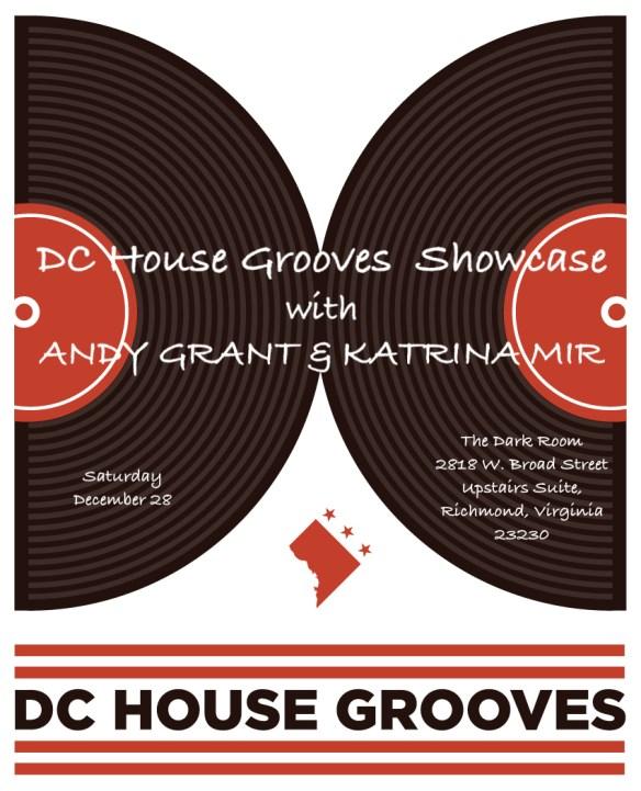 DC House grooves Show Case Dark Room Richmond