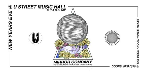 Mirror Ball Company at U Street Music Hall NYE