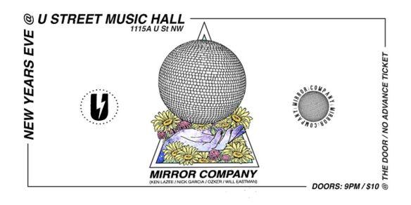 Mirror Ball Company at U Street Music Hall NYE