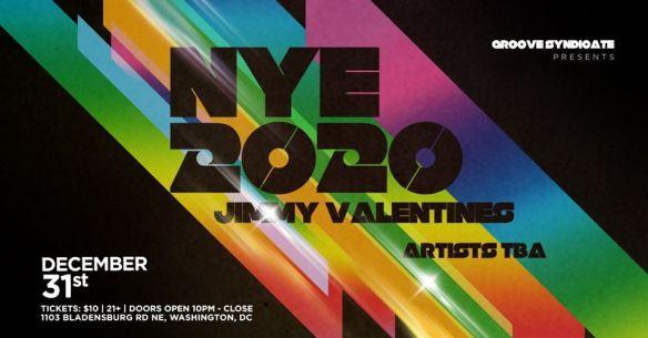 NYE 2020 at Jimmy Valentines