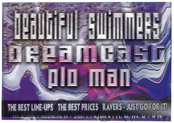 beautiful swimmers plo man dreamcast at jimmy valentines dec 15