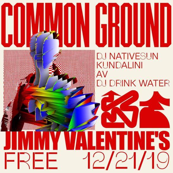 common ground 12-21