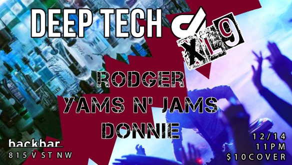 deeptech at backbar dec 14