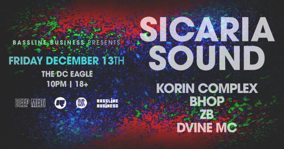 sicaria sound at dc eagle dec 13