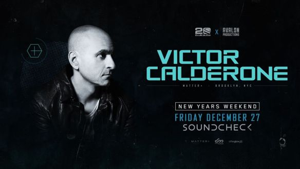 victor calderone at soundcheck