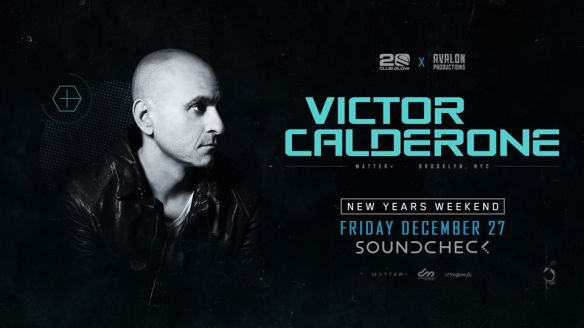 victor calderone at soundcheck