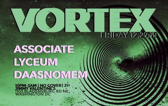 vortex at jimmy valentines 12-27