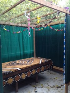 Sukkah In Chevy Chase DC