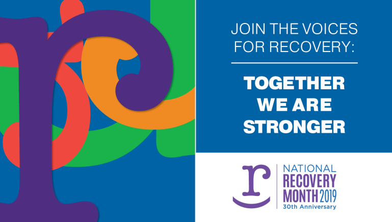 National Recovery Month 2019 - 30th Anniversary