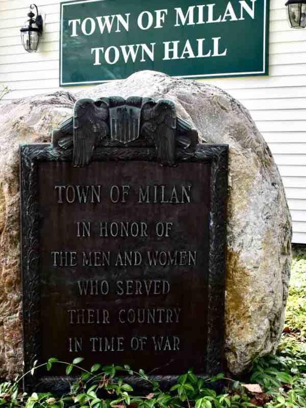 milan veteran memorial