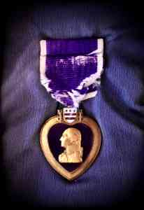 Purple Heart Belonging to C. Fred Close
