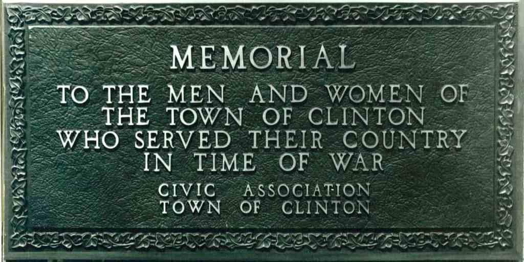 Clinton Memorial WWI