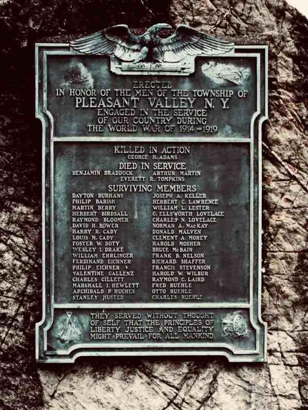 DCSH WWI PV monument