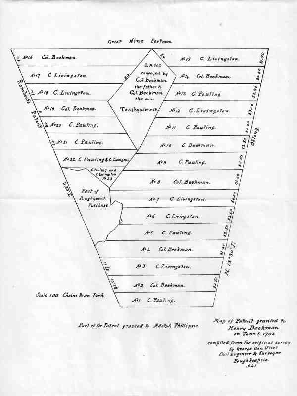 DCHSYB 1916 Beekman Patent Map