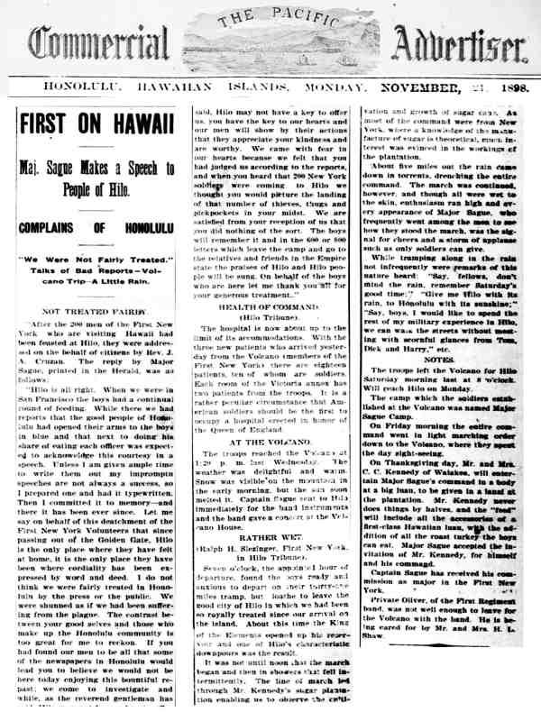 Sague Hawaii