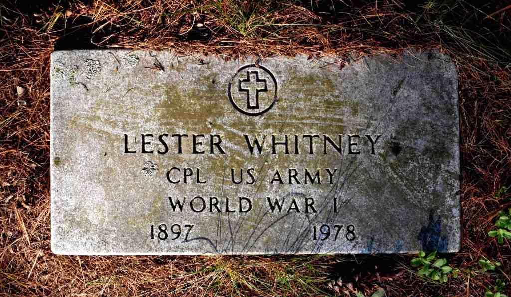 Lester Whitney HeadstonePP