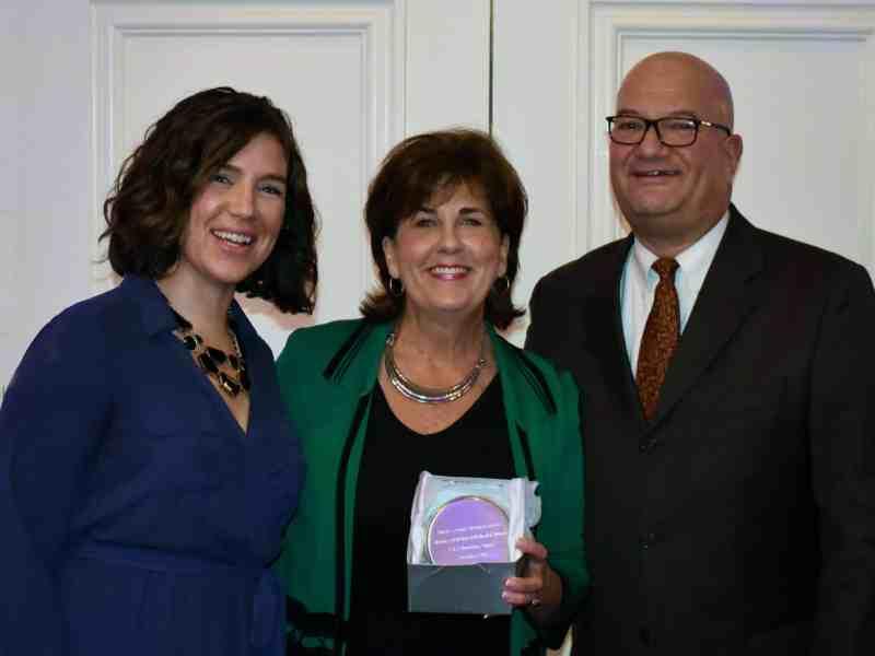 Wayne and Stephanie Nussbickel with Denise Van Buren.