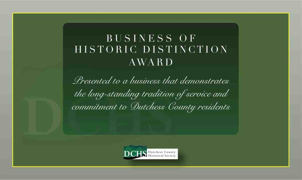 BUSINESS OF HISTORIC DISTINCTION