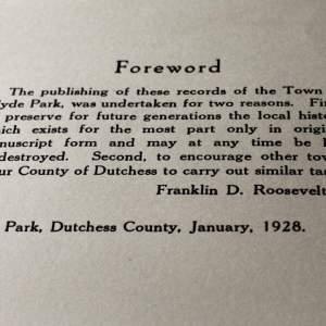 DCHS FDR Hyde Park Records Intro