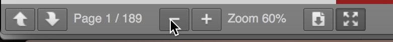 PDF embed scrollbar