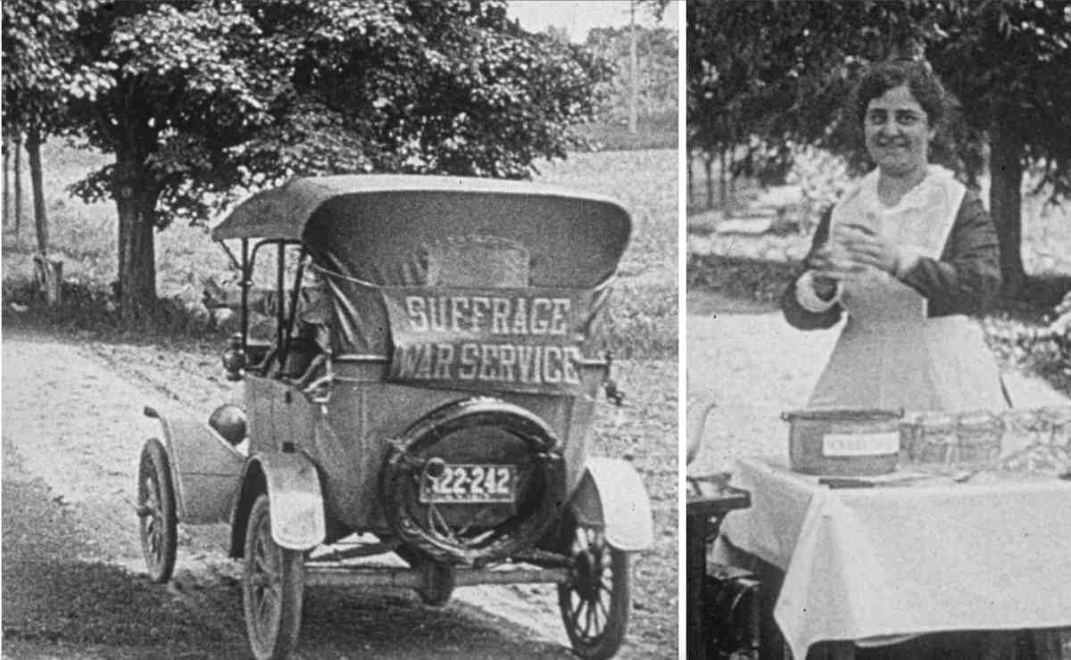 Suffrage War Service 4wheels