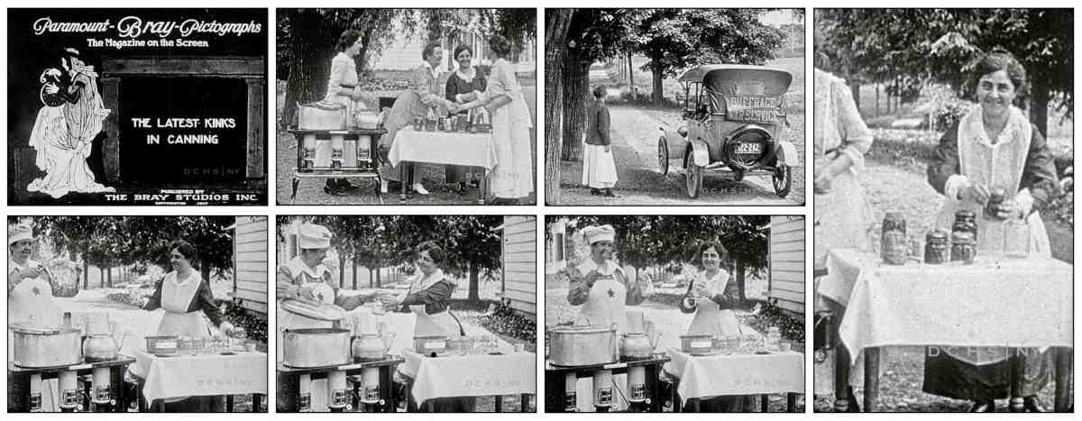 Kinks In Canning Clips 1917