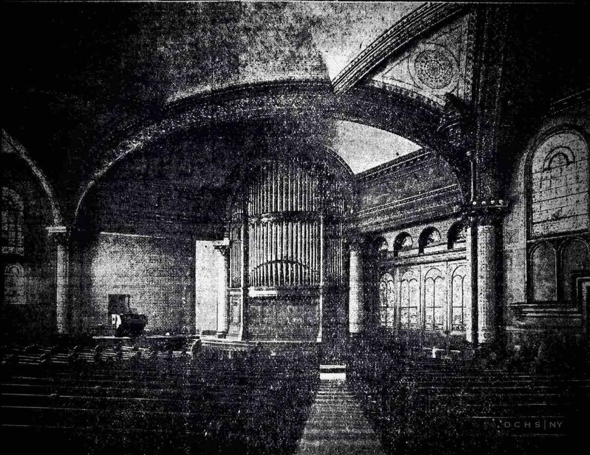 DCHS First Presbyterian Interior 1908 010
