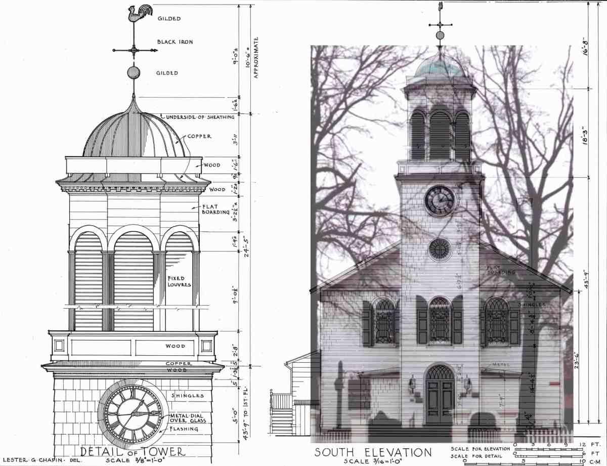 St Georges HABS Drawings