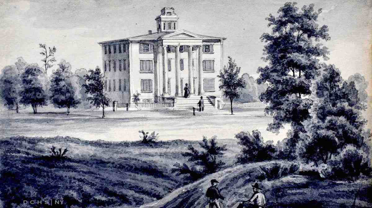 Early print of the Female Academy