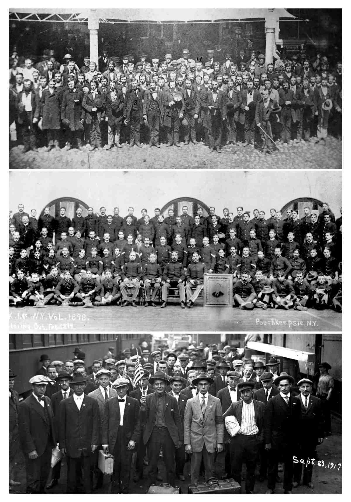 DCHS Veterans 1861 1898 1917