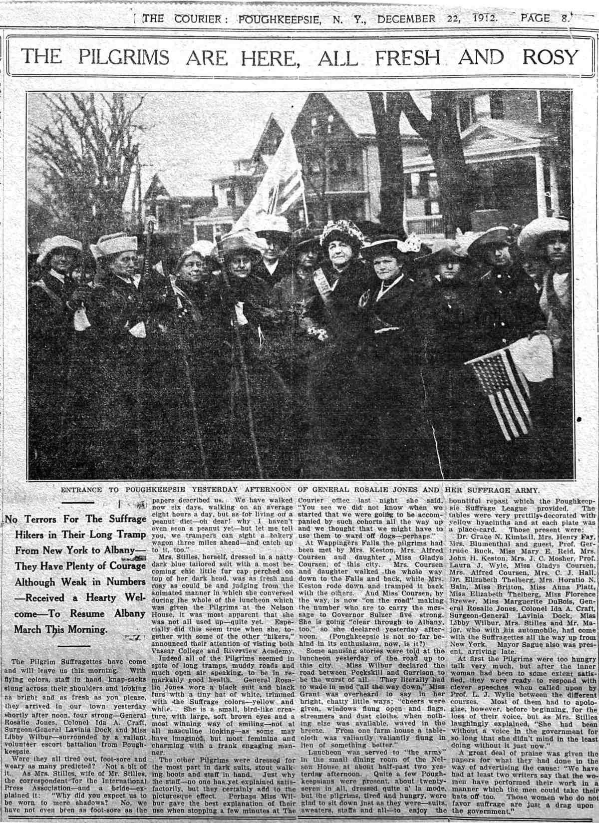 Poughkeepsie Pilgrims 1912