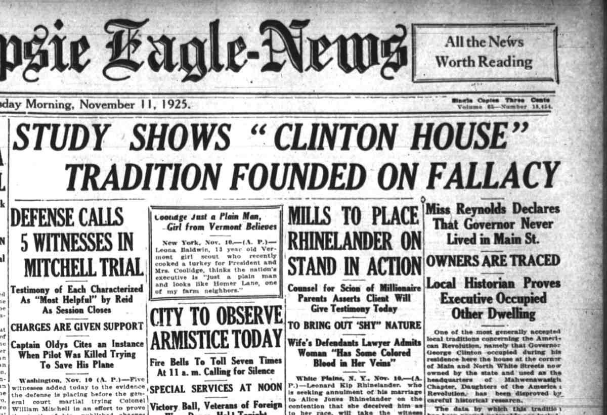 Clinton House Fallacy 4Tales 1925 1111