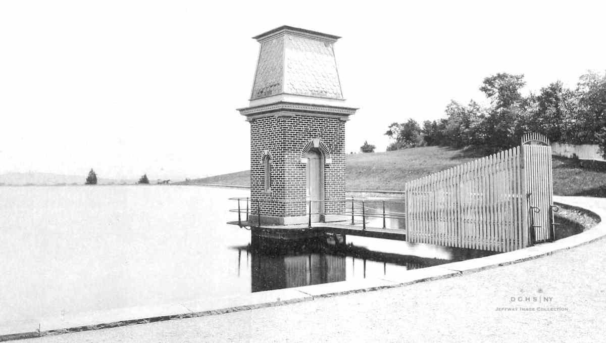 College Hill Reservoir 1891 Jeffway DIG