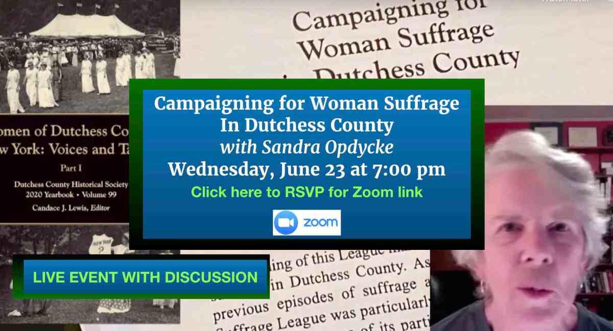 June Opdycke Suffrage Header