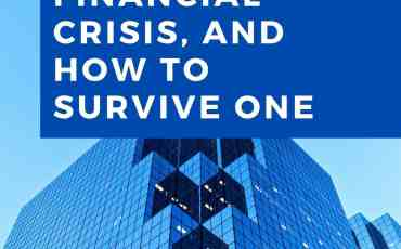 HOW TO SURVIVE A FINANCIAL CRISIS