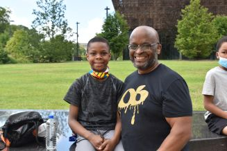 On Father's Day, Black Dads And Their Families March In ...