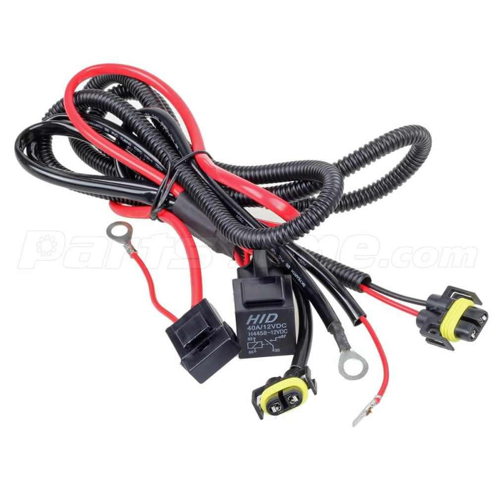 medium resolution of i kept it simple and purchased a heavy duty h11 wiring harness that has the relay fuse and bulb pigtails bundled together and ready to install