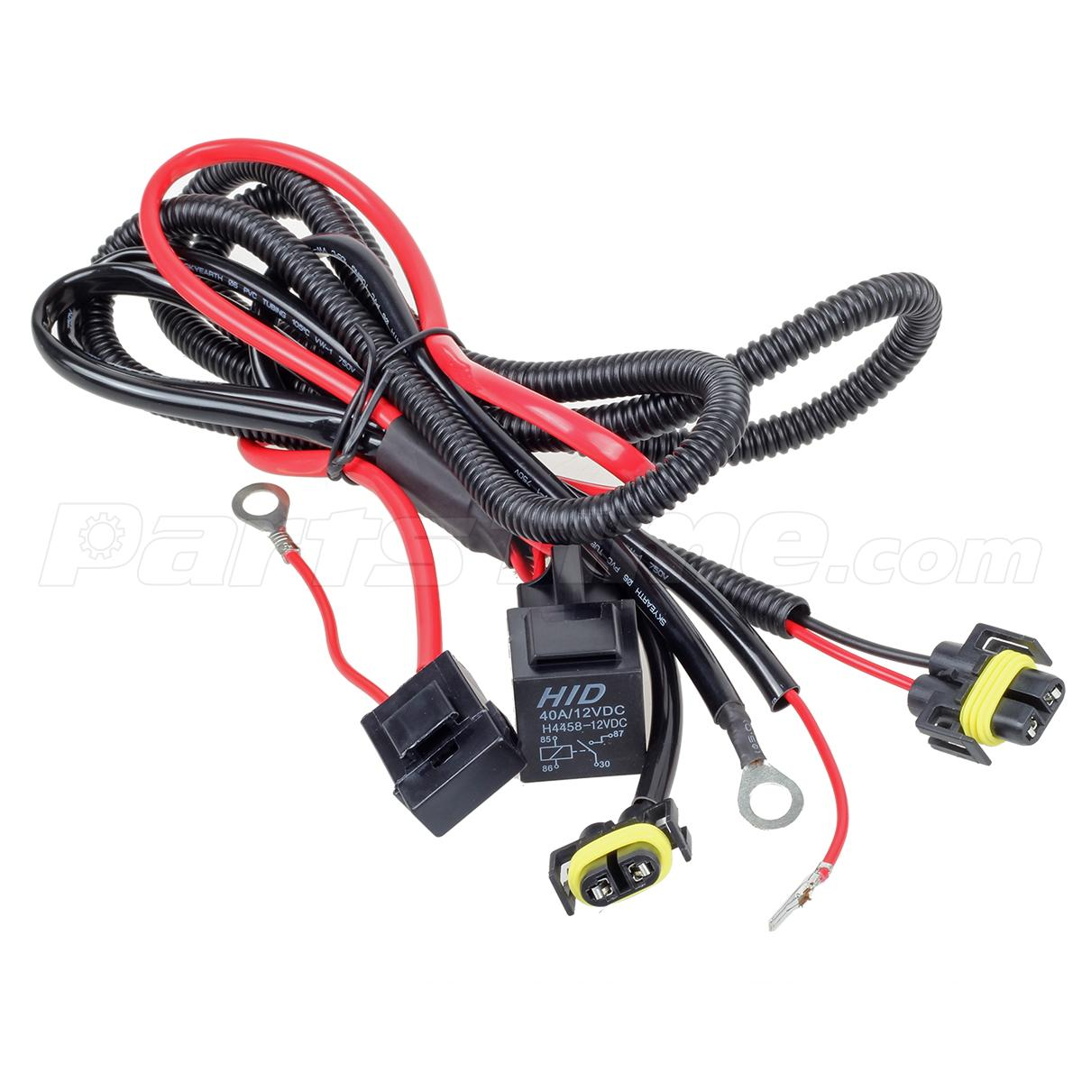 hight resolution of i kept it simple and purchased a heavy duty h11 wiring harness that has the relay fuse and bulb pigtails bundled together and ready to install